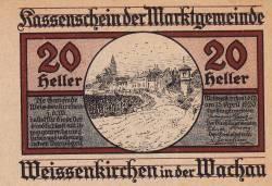 Image #1 of 20 Heller 1920 - Weißenkirchen in der Wachau