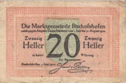 20 Heller 1920 - Bischofshofen