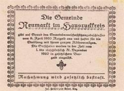 Image #2 of 20 Heller 1920 - Neumarkt im Hausruckkreis