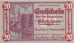 Image #1 of 20 Heller 1920 - Pöchlarn