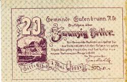 Image #1 of 20 Heller 1921 - Gutenbrunn