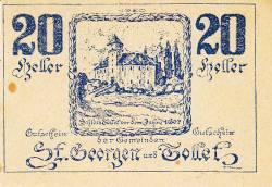 Image #1 of 20 Heller 1921 - Sankt Georgen and Tollet