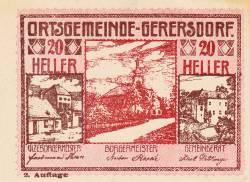 Imaginea #1 a 20 Heller ND - Gerersdorf (A II-a emisiune - 2. Auflage)