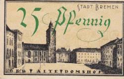 Image #2 of 25 Pfennig 1921 - Bremen
