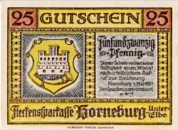 Imaginea #2 a 25 Pfennig 1921 - Horneburg