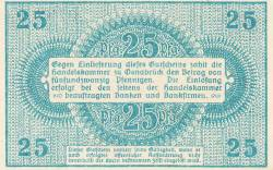 Image #2 of 25 Pfennig 1921 - Osnabrück