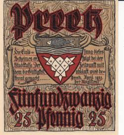 Image #1 of 25 Pfennig 1921 - Preetz