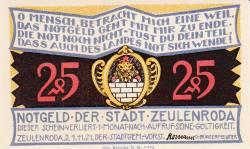 Image #1 of 25 Pfennig 1921 - Zeulenroda