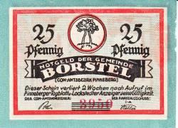 25 Pfennig ND - Borstel (Pinneberg)