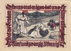 Image #2 of 25 Pfennig ND - Pries-Friedrichsort