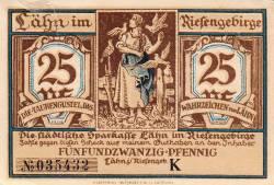 Image #1 of 25 Pfennig ND - Lähn im Riesengebirge