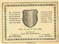 Image #2 of 30 Heller 1920 - Au an der Donau