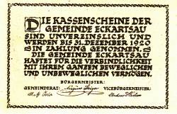 Imaginea #2 a 30 Heller 1920 - Eckartsau