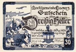 30 Heller 1920 - Eisenerz