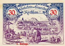 Image #1 of 30 Heller 1920 - Kirchham (district of Gmunden)
