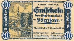 Image #1 of 40 Heller 1920 - Pöchlarn