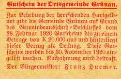 Image #2 of 5 Heller 1920 - Grünau