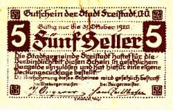 Image #1 of 5 Heller 1920 - Freistadt