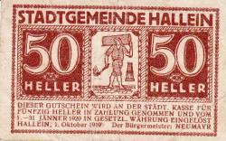 Image #1 of 50 Heller 1919 - Hallein