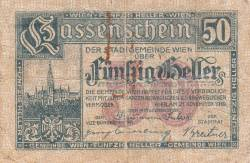 Imaginea #1 a 50 Heller 1919 - Viena
