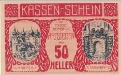50 Heller 1920 - Artstetten