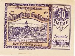 Image #1 of 50 Heller 1920 - Behamberg