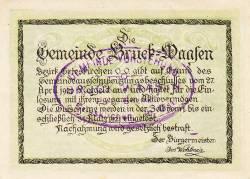 Image #2 of 50 Heller 1920 - Bruck-Waasen