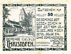 Image #1 of 50 Heller 1920 - Christofen