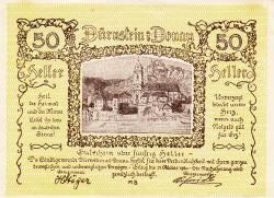 Image #1 of 50 Heller ND - Dürnstein a. d. Donau