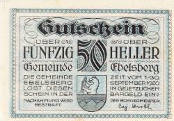 Imaginea #1 a 50 Heller ND - Ebelsberg