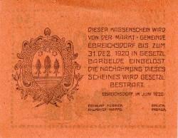 Image #2 of 50 Heller 1920 - Ebreichsdorf