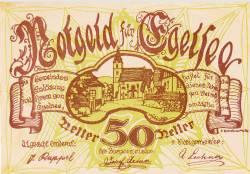 50 Heller 1920 - Egelsee