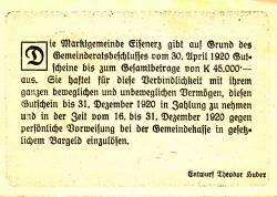 Image #2 of 50 Heller 1920 - Eisenerz