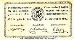 Imaginea #2 a 50 Heller 1920 - Emmersdorf