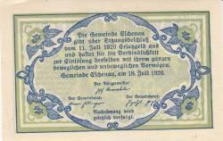 Imaginea #2 a 50 Heller 1920 - Eschenau im Pinzgau