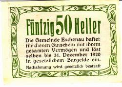 Image #2 of 50 Heller 1920 - Eschenau