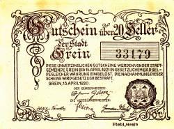 Imaginea #2 a 50 Heller 1920 - Esternberg