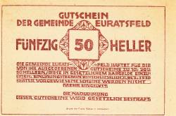 Imaginea #2 a 50 Heller ND - Euratsfeld