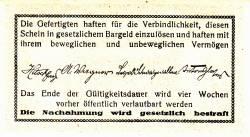 Imaginea #2 a 50 Heller 1920 - Fahrafeld (district în Sankt Pölten)