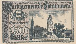 Imaginea #1 a 50 Heller 1920 - Fischamend