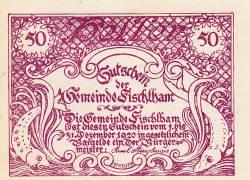 Imaginea #1 a 50 Heller 1920 - Fischlham