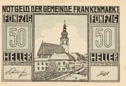 Imaginea #1 a 50 Heller 1920 - Frankenmarkt