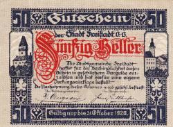 Image #1 of 50 Heller 1920 - Freistadt