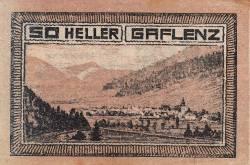 50 Heller 1920 - Gaflenz
