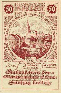 Image #1 of 50 Heller 1920 - Gföhl