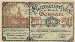 Imaginea #1 a 50 Heller 1920 - Gossam