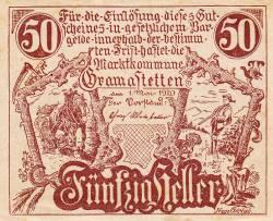 Imaginea #1 a 50 Heller 1920 - Gramastetten