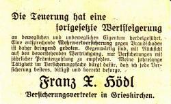 Image #2 of 50 Heller 1920 - Grieskirchen