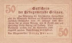 Image #2 of 50 Heller 1920 - Grünau