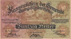 50 Heller 1920 - Gumpoldskirchen